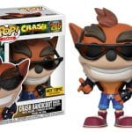 Crash Bandicoot in Biker outfit available only at Hot Topic