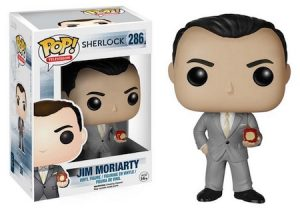 Jim Moriarty Funko Pop