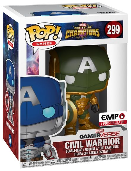 civil warrior funko pop