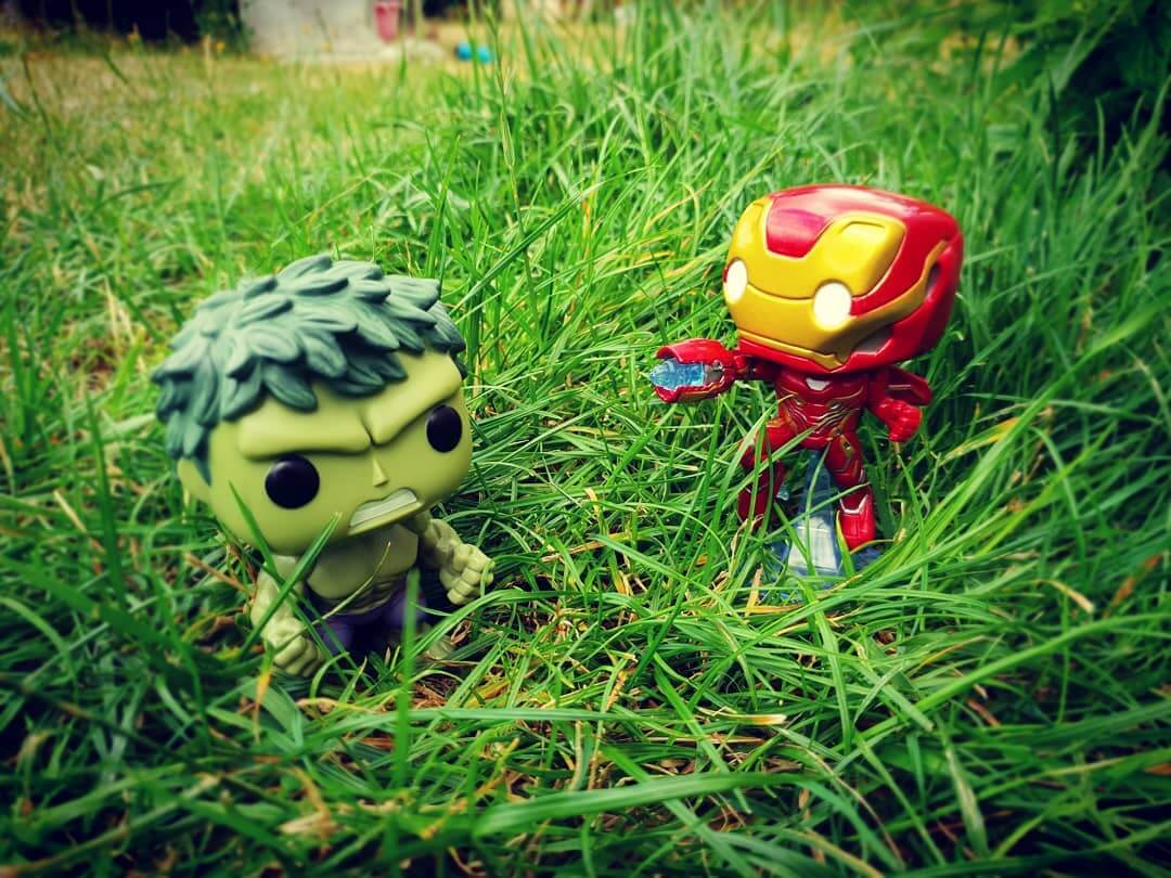 hulk ironman funko pop