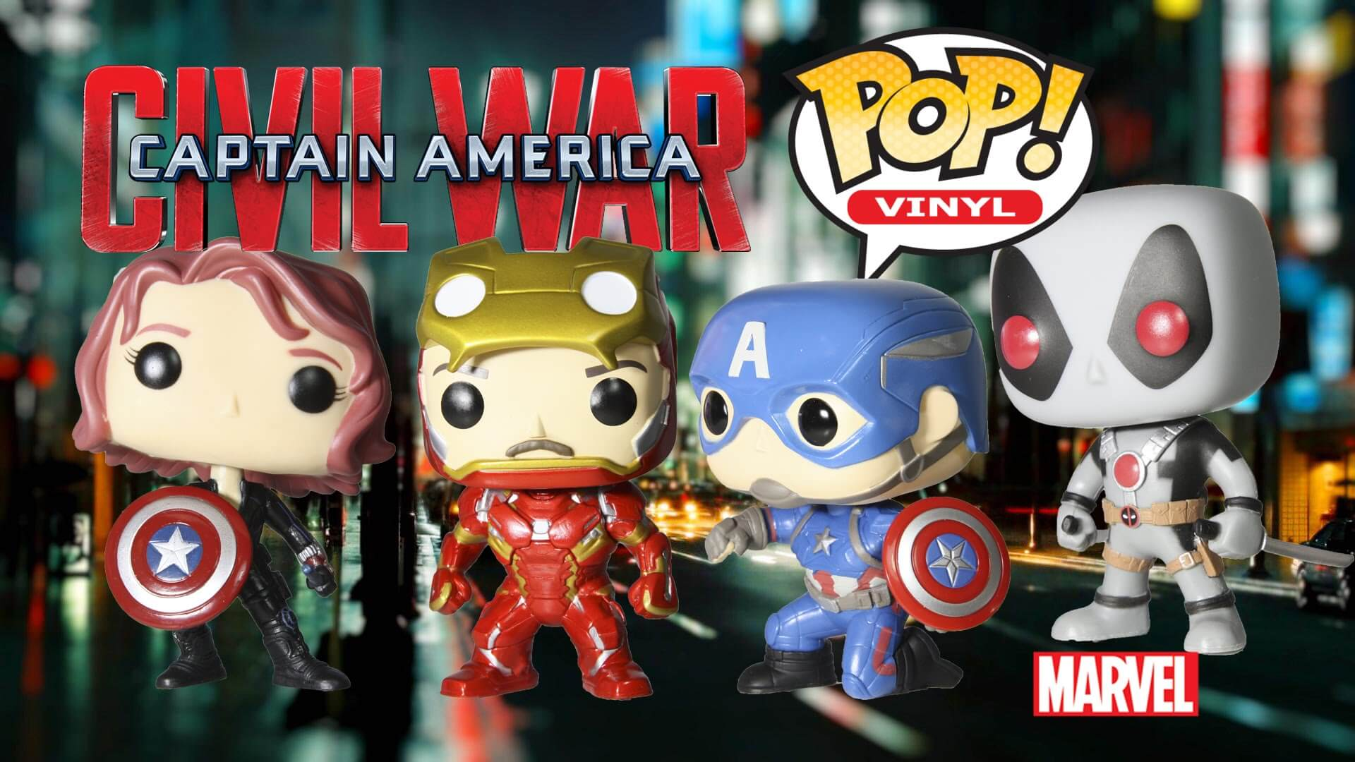 avengers vendicatori funko