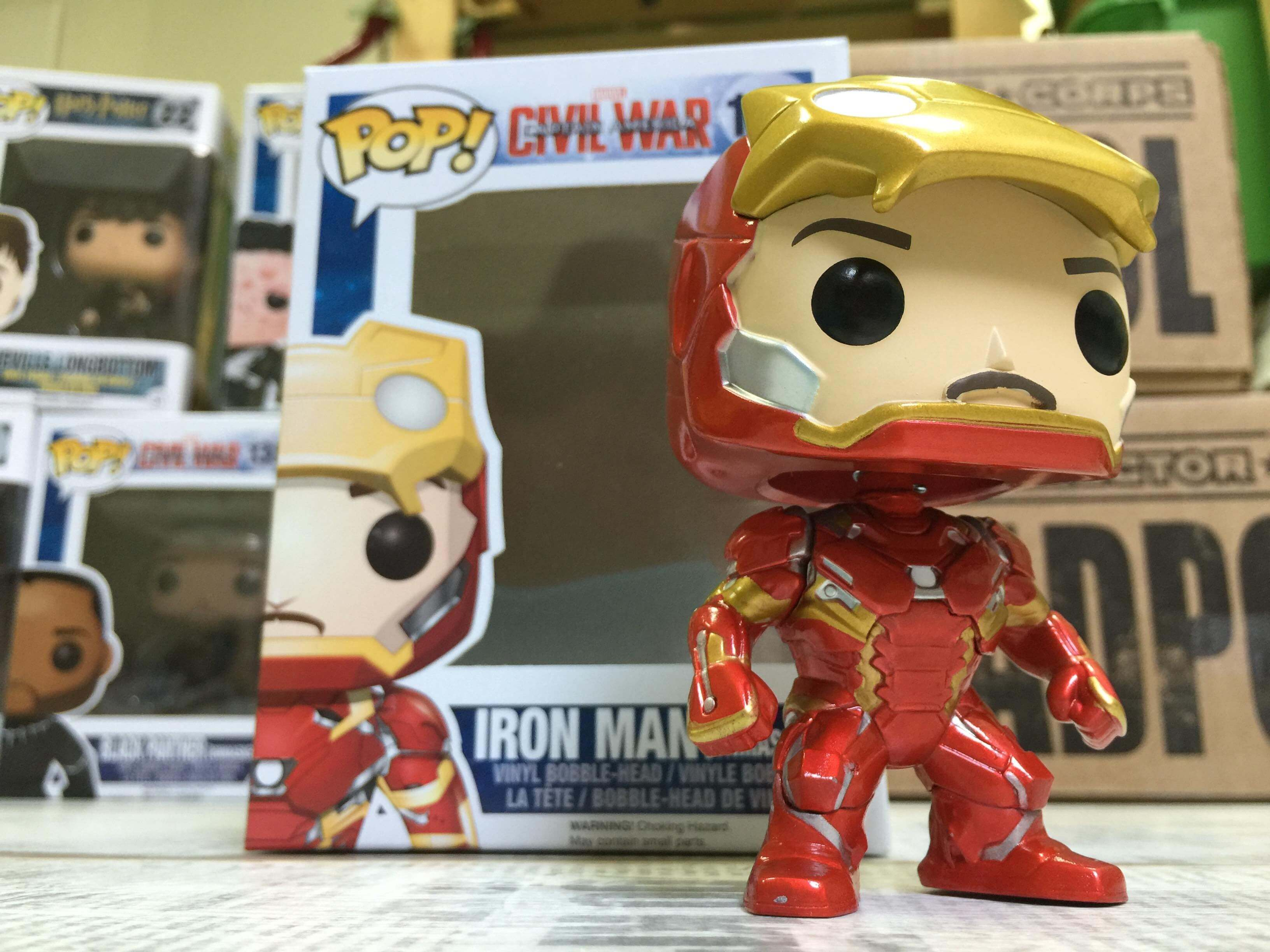 iron man tony stark funko
