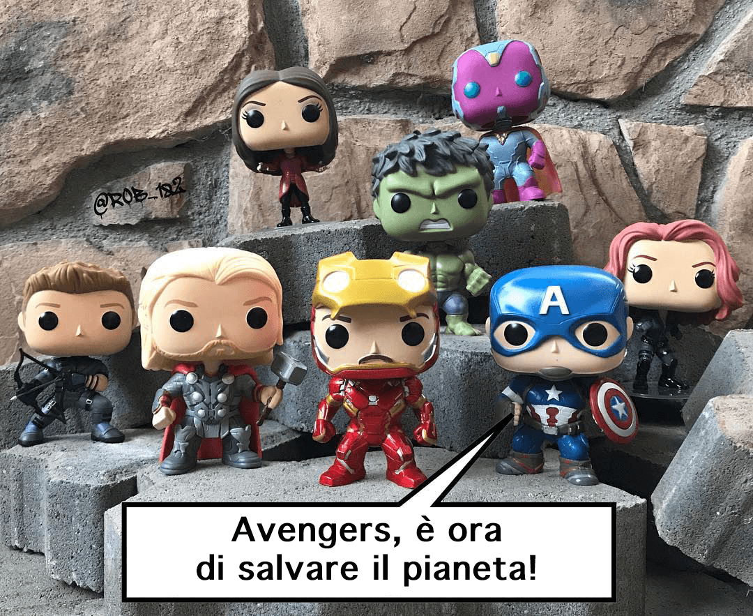 super eroi marvel funko pop