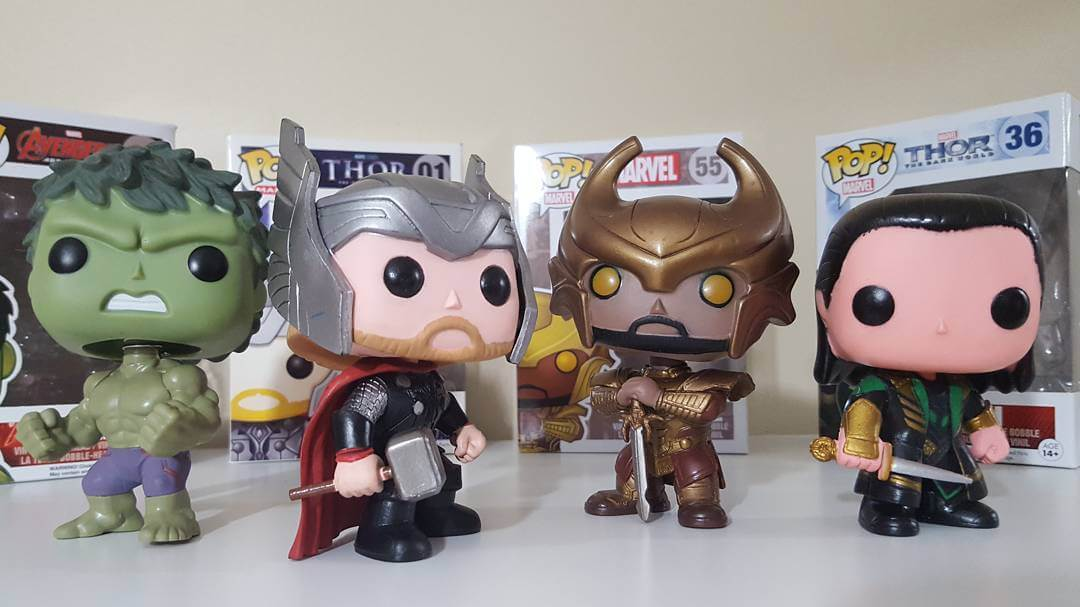 vendicatori marvel funko pop