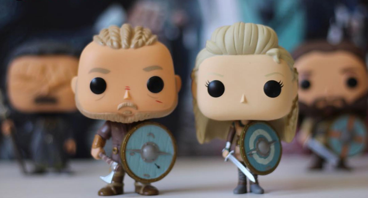 Funko Pop di Vikings